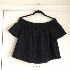 Who What Wear off-the-shoulder blouse.